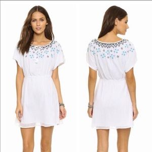 {CUPCAKES & CASHMERE} Embroidered Nona Dress